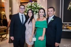 Rodrigo, Rebeca, Mariana Mendes e Bonifácio Junior