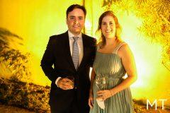 Diego Guedelha e Camila Rabelo