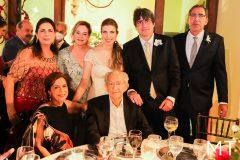 Fatima Jereissati, Jaqueline Mota, Beta José, Gabriela Eduardo e Gerardo Jereissati
