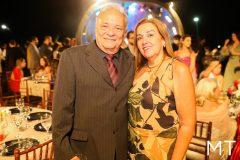 José Porto e Gladia Parente