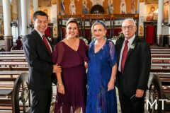 Luis e Marcelo Apeesato, Eugenia Maia e Cleto Prata