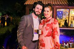 Luiz Guilherme Briole e Daniela Aquino
