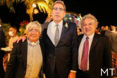 Ricardo Bezerra, Gerardo Jereissati e Eugerio Arcanjo