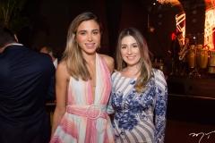 Alix Pinho e Amanda Maia