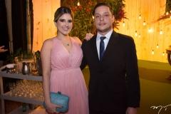 Anne Sales e João Vitor Medeiros