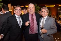 Arley Cardoso, Ricardo Delgado e Francisco Andrade