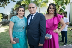 Franciane, Alan e Juliana Dias