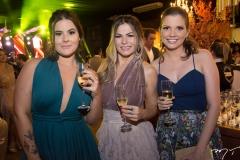 Júlia Pacheco, Sara Oliveira e Cris Amaral