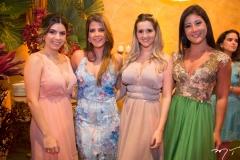 Marina Fernandes, Taís Valente, Jéssica Aguiar e Bianca Lima