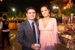 Rafael Victor e Priscila Lima