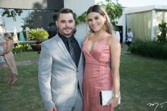 Ramon Guerreira e Brenda Braga