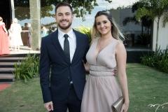 Sávio Lima e Jessica Aguiar