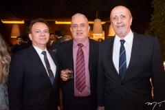 Valderir Dantas, Ricardo Delgado e Mauricio Ienac