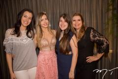 Amanda Timbó e Fernanda Arruda, com Lívia e Danielle Pinheiro