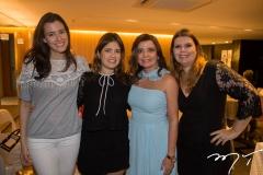 Amanda Timbó, Mirela e Denise Arruda, com Danielle Pinheiro