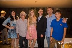 Camile, José, Fernanda, Gustavo, Danilo e Danilo Arruda