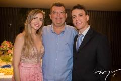 Fernanda, Danilo e Gustavo Arruda