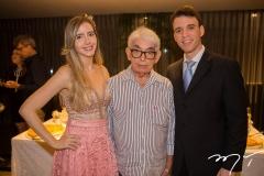 Fernanda, José e Gustavo Arruda