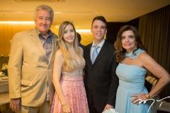 Gilson Gondim, Fernanda, Gustavo e Denise Arruda