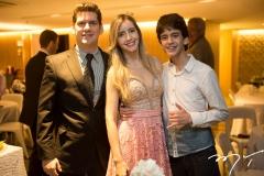 Victor Furtado, Fernanda Arruda e Lucas Furtado