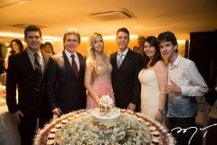 Victor e Fernando Furtado, com Fernanda e Gustavo Arruda, Zélia e Lucas Furtado