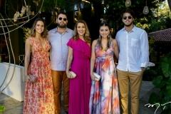 Alice, Elinaldo, Leda, Amanda e Arthur Diniz