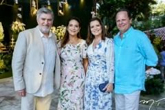 Amarilio e Patricia Macêdo, Geni Levy e Wilton Correia Lima