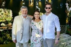 Amarílio, Patrícia e Ravi Macêdo