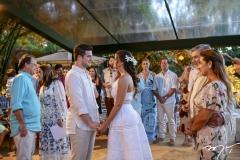 Casamento civil de Omar Macêdo e Fernanda Levy