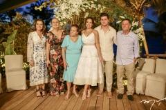 Casamento de Omar Macêdo e Fernanda Levy