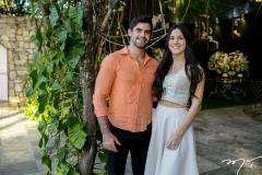 Moisés Saraiva e Natália Levy