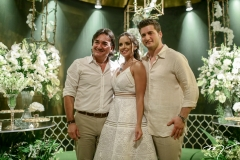 Paulo Helmant, Fernanda Levy e Omar Macêdo