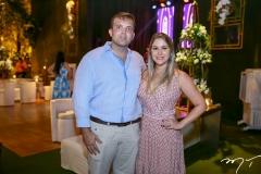 Rodrigo Leitão e Fernanda Macêdo