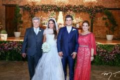 Amarilio Macêdo, Fernanda Levy, Omar e Patrícia Macêdo