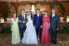 Bruna Magalhães, Ravi Macêdo, Fernanda Levy, Omar, Patrícia e Amarílio Macêdo