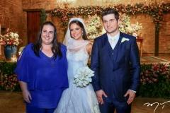 Clara Frank, Fernanda Levy e Omar Macêdo