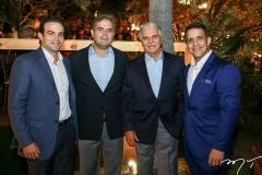 Drauzio Barros Leal, Edson Queiroz Neto, Pio Rodrigues e Raul Amaral