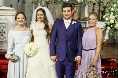 Eleusis Alencar, Fernanda Levy, Omar Macêdo e Clarissa Alencar