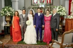 Geni Levy, Wilton Correia Lima, Fernanda Levy, Omar, Patrícia e Amarílio Macêdo