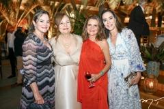 Jaqueline Mota, Cristiane Levy, Geni Levy e Cristine Ary