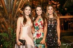 Lara Linhares, Isabel Miranda e Lara Matos