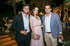 Luis Fernando Ramalho, Giovana Bezerra, e Alexandre Félix