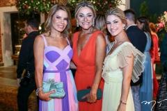 Maira Silva, Celia e Bruna Magalhães