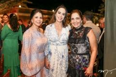 Maria Lucia Negrão, Cristiane Ary e Giana Studart