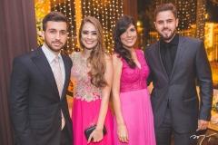 Ailson Silveira, Luana Guerra, Camila Gonçalves e Rômulo Cortez