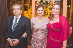 Alexandre Figueiredo, Vanda Carneiro e Ivana Carneiro