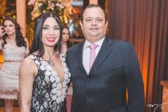 Camila Martins e Moacir Sá