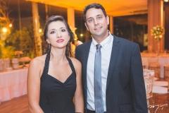 Fernanda Gaio e Rafael Grobério