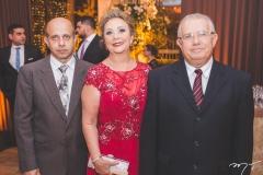 Henrique, Norma e Stênio Carvalho