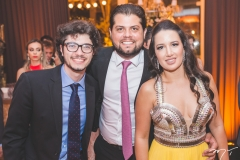 Jorge Saud, Pedro Garcia e Gabriela Bastos